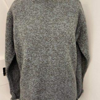 Wensleydale Hunton sweater in Fennel Marl