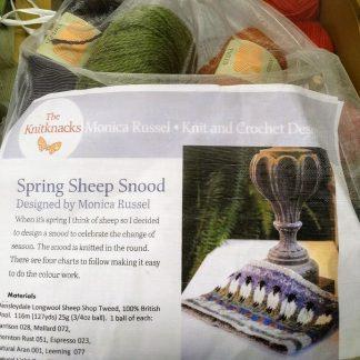 Sheepshop Snood kit